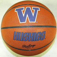 Washington Huskies NCAA Rawlings Tip Off Full Size Basketball