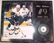 Mike Modano Dallas Stars 15x12 Plaque With Puck