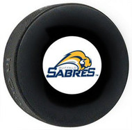 Buffalo Sabres NHL Team Logo Autograph Model Throwback Hockey Puck 2010