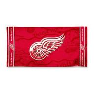 """Detroit Red Wings WinCraft McArthur 30""""x60"""" Fiber Beach Towel"""