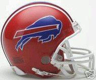 Buffalo Bills 1987-2001 Riddell NFL Replica Throwback Mini Helmet