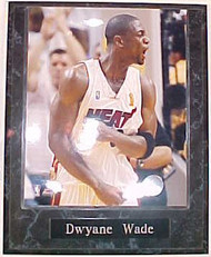 Dwyane Wade Miami Heat 2006 NBA Finals 10.5x13 Plaque