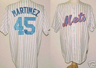 Pedro Martinez New York Mets Majestic Home Custom XL Jersey