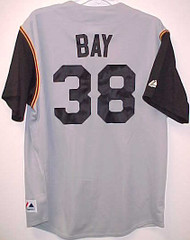 Jason Bay Pittsburgh Pirates Majestic Road Custom XL Jersey