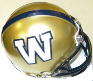 Winnipeg Blue Bombers Riddell CFL White Logo Mini Helmet
