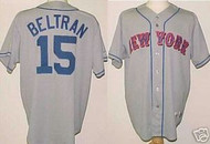 Carlos Beltran New York Mets Majestic Road Custom XL Jersey