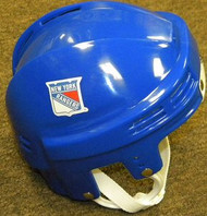 New York Rangers NHL Blue Player Throwback Mini Helmet