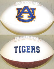 Auburn Tigers Rawlings Jarden Sports Signature NCAA Full Size Fotoball Football - BLOWN UP with BOX & PEN