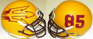 Arizona State Sun Devils Gold #85 Schutt NCAA College Football Authentic Team Mini Helmet