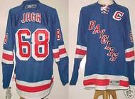 Jaromir Jagr New York Rangers NHL Premier XL Blue Custom Reebok Jersey