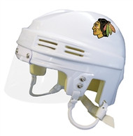 Chicago Blackhawks NHL White Player Mini Hockey Helmet