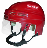 Detroit Red Wings NHL Red Player Mini Hockey Helmet