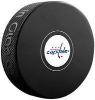 Washington Capitals NHL Team Logo Autograph Model Hockey Puck - Current Logo