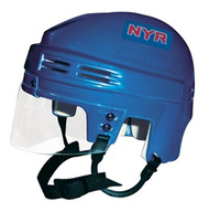 New York Rangers NHL ROYAL BLUE Player Mini Hockey Helmet