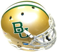 Baylor Bears Gold Schutt NCAA College Football Team Full Size Authentic XP Helmet