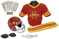 Iowa State Cyclones Franklin Deluxe Youth / Kids Football Uniform Set - Size Small