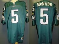 Donovan McNabb Philadelphia Eagles Green Custom Wilson NFL Jersey Size 56
