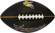Minnesota Vikings Fotoball Jarden Sports NFL PT6 Full Size Black Football