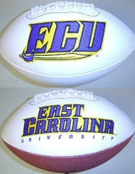 ECU East Carolina Pirates Rawlings Jarden Sports Signature NCAA Full Size Fotoball Football - DEFLATED without Box/Pen