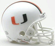 Miami Hurricanes Riddell NCAA Replica Mini Helmet
