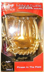 Rawlings Official Major League Baseball Miniature Gold Glove Award