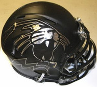 Northwestern Wildcats BLACK Cat Head Riddell NCAA Replica Revolution SPEED Mini Helmet