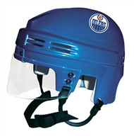 Edmonton Oilers NHL ROYAL BLUE Player Mini Hockey Helmet