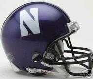 Northwestern Wildcats Riddell NCAA Replica Mini Helmet