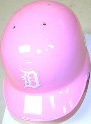 Detroit Tigers Pink Riddell MLB Replica Mini Batting Helmet