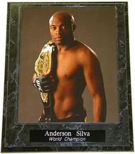 Anderson Silva UFC MMA World Champion 10.5x13 Plaque