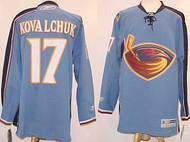 Ilya Kovalchuk Atlanta Thrashers NHL Premier XL Blue Custom Reebok Jersey