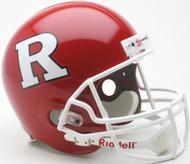 Rutgers Scarlett Knights Riddell NCAA Collegiate Deluxe Replica Full Size Helmet