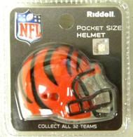Cincinnati Bengals NFL Riddell Pocket Pro Revolution Helmet