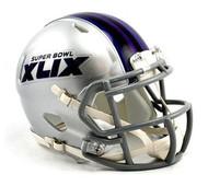 Super Bowl XLIX 49 Arizona 02.01.15 Riddell NFL Replica Revolution SPEED Mini Helmet