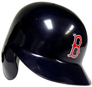 Boston Red Sox Rawlings Full Size Authentic Left Handed Batting Helmet - Right Flap Regular
