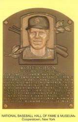 Bob Gibson Cardinals Hall Of Fame Postcard