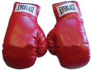 Everlast Traditional Style 12 oz. Pair of Laced Autograph Model Vinyl Boxing Gloves