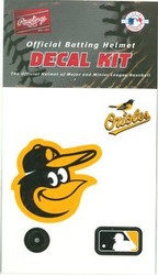 Baltimore Orioles Official Rawlings Authentic Batting Helmet Decal Kit