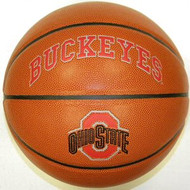 Ohio State Buckeyes NCAA Rawlings Triple Threat Full Size Basketball