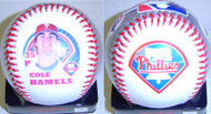 Cole Hamels Philadelphia Phillies Rawlings Official Collectible Major League Baseball