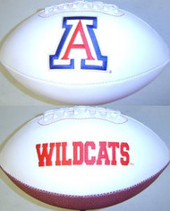 Arizona Wildcats Rawlings Jarden Sports Signature NCAA Full Size Fotoball Football - BLOWN UP with BOX & PEN