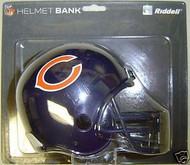 Chicago Bears Riddell NFL Mini Helmet Bank