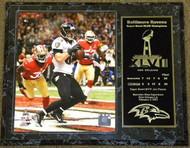 Dennis Pitta Baltimore Ravens Super Bowl XLVII 47 Champions 12x15 Plaque