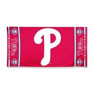 "Philadelphia Phillies WinCraft McArthur 30""x60"" Fiber Beach Towel"