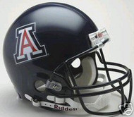 "Arizona Wildcats ""BLUE"" Riddell NCAA Collegiate Authentic Pro Line Full Size Helmet"