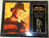 A Nightmare On Elm Street 15 x 12 Movie Plaque Robert Englund