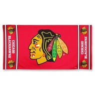 "Chicago Blackhawks WinCraft McArthur 30""x60"" Fiber Beach Towel"