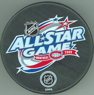 2009 NHL All-Star Game Logo Hockey Puck Hosted By The Montreal Canadiens