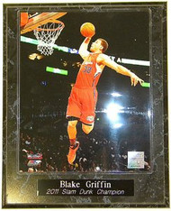 Blake Griffin Los Angeles Clippers 2011 All-Star Game Slam Dunk Contest Champion NBA 10.5x13 Plaque - blakegriffinpl2