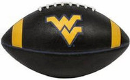 West Virginia Mountaineers Fotoball Jarden Sports NCAA PT6 Full Size Black Football